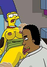 Dr. Hibbert Fucked Nude Marge Simpson